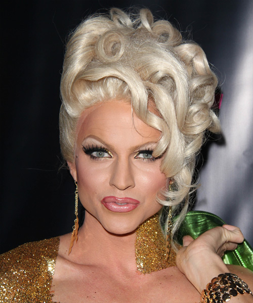 Courtney Act Curly Formal Wedding