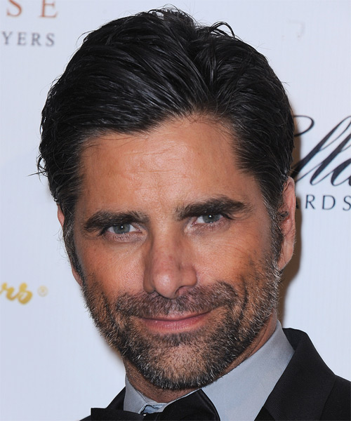 John Stamos Short Straight Formal Hairstyle - Black Hair Color