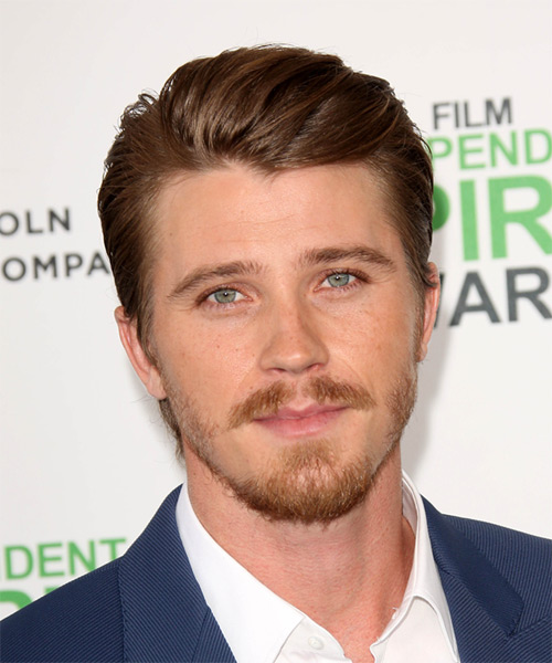 Garrett Hedlund Short Straight Hairstyle - Medium Brunette (Auburn)