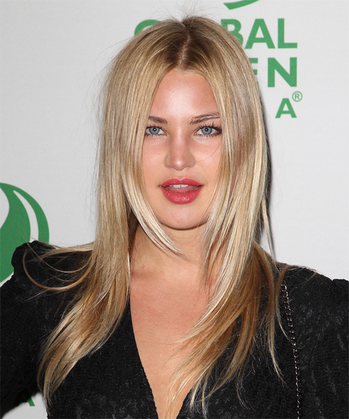 Jennifer Akerman - Straight  Long Straight Hairstyle - Medium Blonde