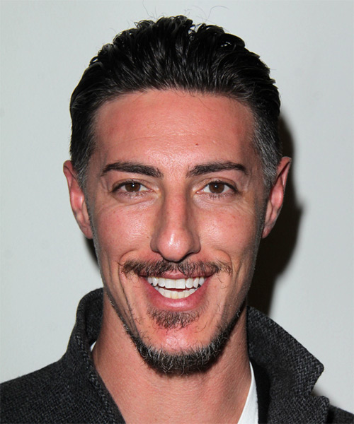 Eric Balfour Short Straight Hairstyle - Black