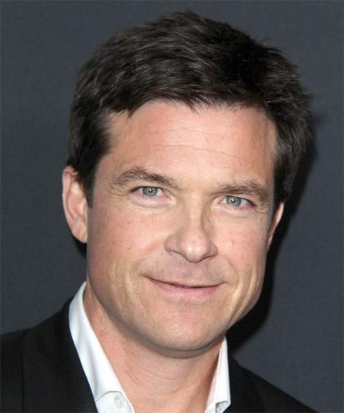 Jason Bateman Short Straight Hairstyle - Dark Brunette (Ash)