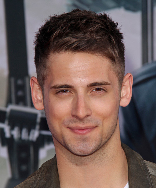 Jean Luc Biliodeau Short Straight Hairstyle - Medium Brunette