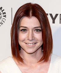 Alyson Hannigan - Straight Bob