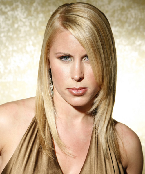 Long Straight Formal Hairstyle - Medium Blonde (Ash)