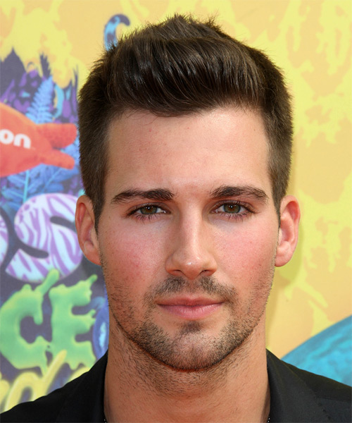 James Maslow Short Straight Hairstyle - Medium Brunette