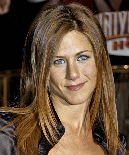 Long Straight Casual hairstyle: Jennifer Aniston | TheHairStyler.com