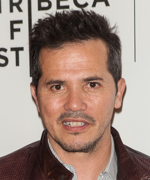 John Leguizamo Short Straight Hairstyle - Medium Brunette