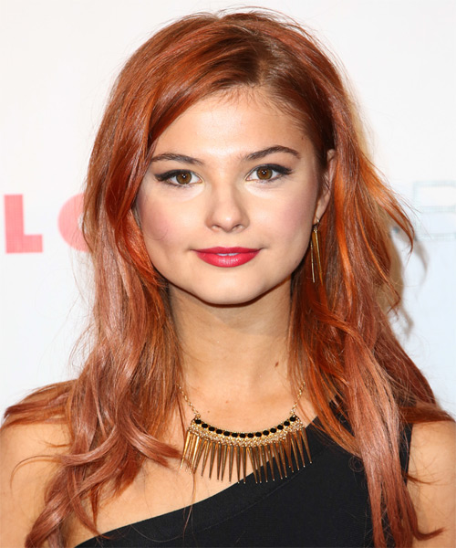 Stefanie Scott Long Straight Casual