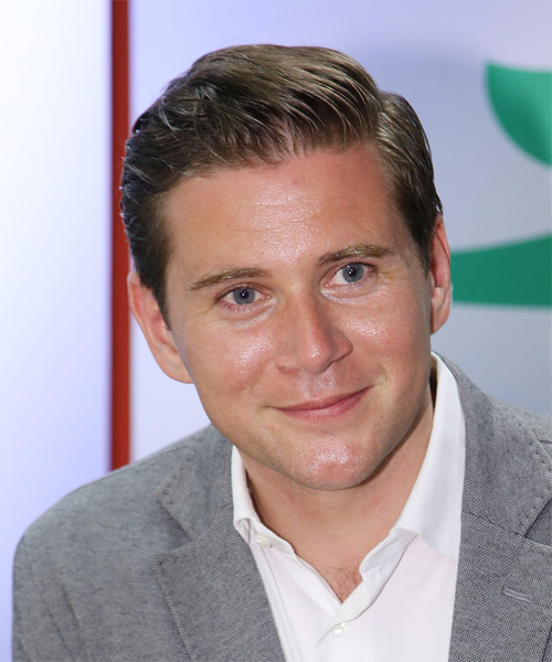 Allen Leech Short Straight Hairstyle - Light Brunette (Ash)