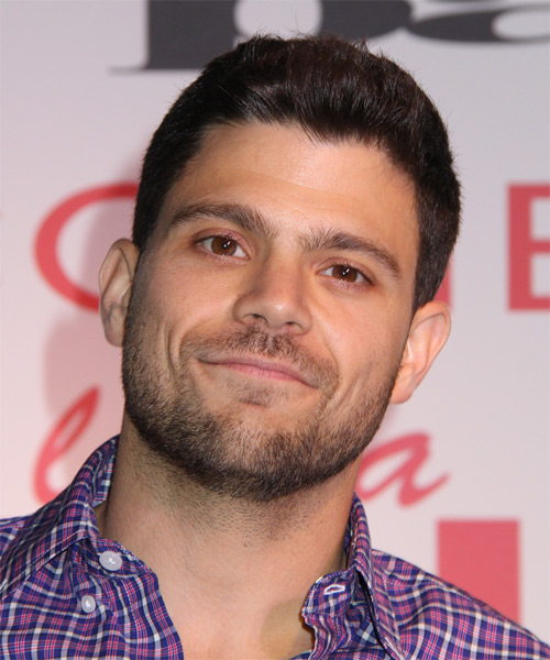 Jerry Ferrara Short Straight Hairstyle - Dark Brunette