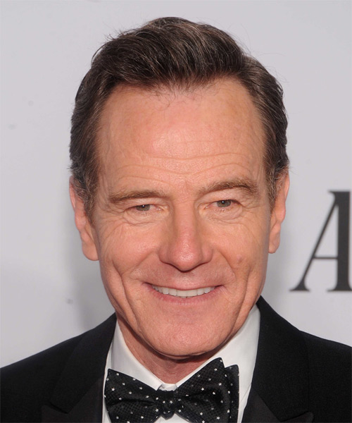 Bryan Cranston Short Straight Formal Hairstyle - Medium Brunette Hair Color