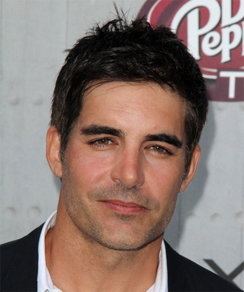 Galen Gering Short Straight Hairstyle - Black
