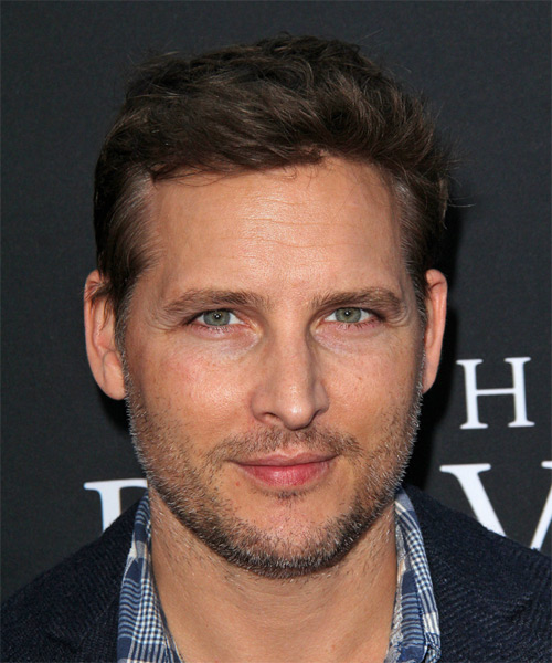 Peter Facinelli Short Straight Hairstyle - Dark Brunette