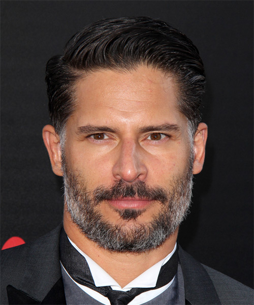 Joe Manganiello Short Straight Hairstyle - Black