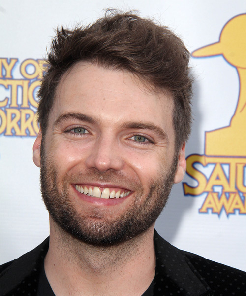 Seth Gabel Short Straight Hairstyle - Medium Brunette