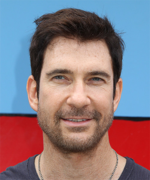 Dylan McDermott Short Straight Hairstyle - Medium Brunette