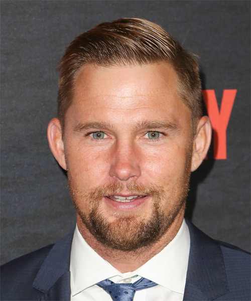 Brian Geraghty Short Straight Hairstyle - Dark Blonde