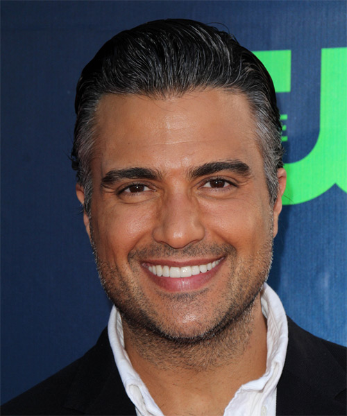 Jaime Camil Short Straight Hairstyle - Black