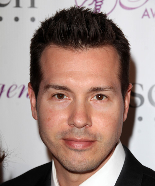 Jon Seda Short Straight Hairstyle - Dark Brunette