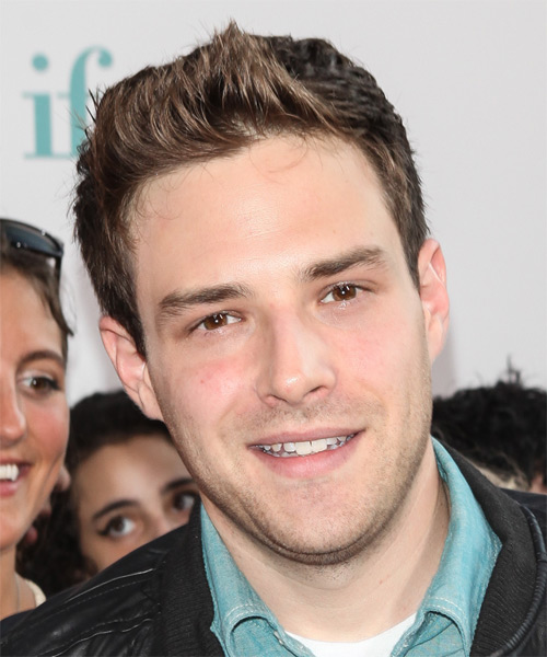 Ben Rappaport Short Straight Hairstyle - Medium Brunette