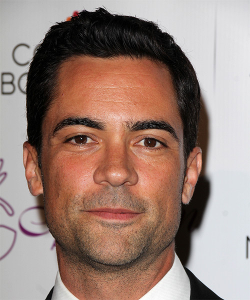 Danny Pino Short Straight Hairstyle - Black