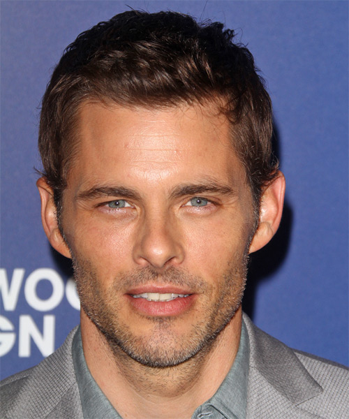 James Marsden Short Straight Hairstyle - Medium Brunette
