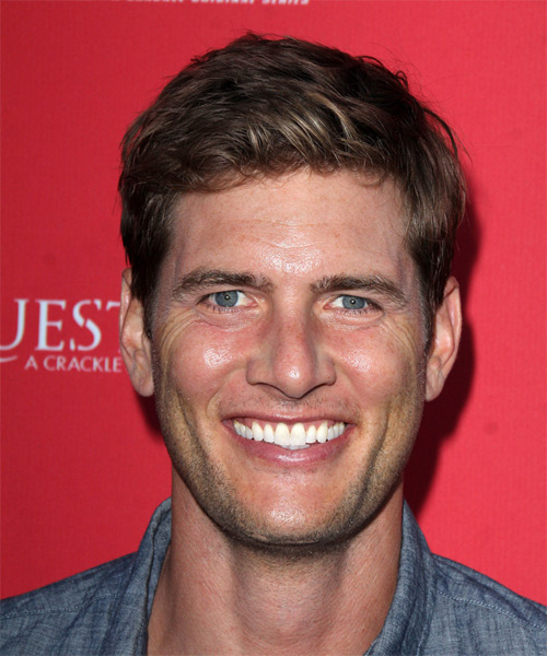 Ryan McPartlin Short Straight Hairstyle - Medium Brunette