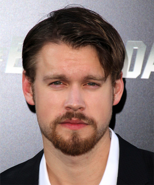 Chord Overstreet Short Straight Casual Hairstyle - Dark Brunette