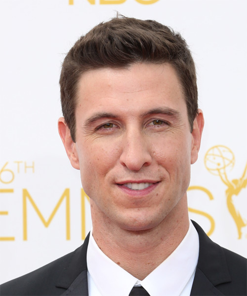 Pablo Schreiber Short Straight Casual  - Medium Brunette