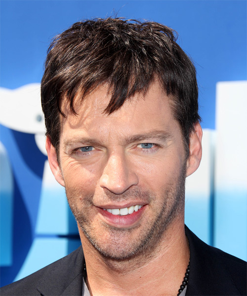 Harry Connick Jr Short Straight Casual  - Dark Brunette (Chocolate)