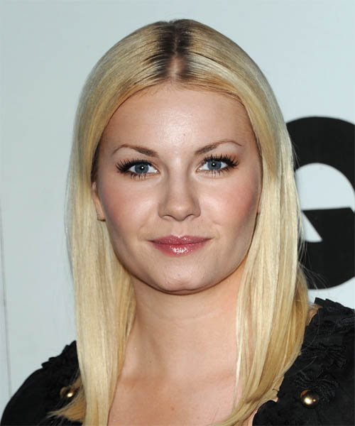 Elisha Cuthbert Long Straight Hairstyle