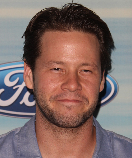 Ike Barinholtz Short Straight Casual  - Dark Brunette