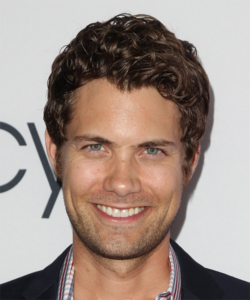 Drew Seeley Short Curly Casual  - Medium Brunette