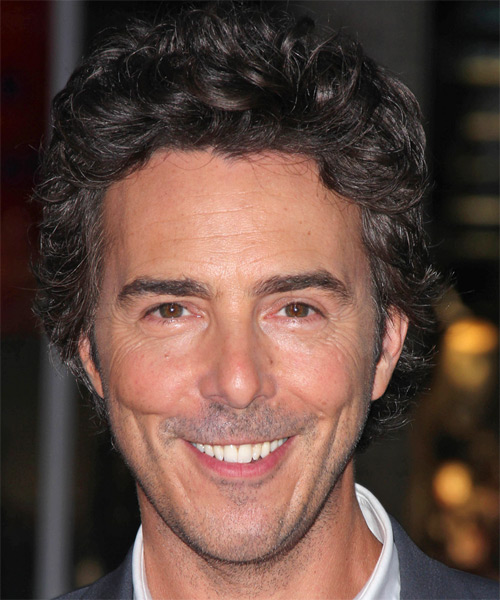 Shawn Levy Short Wavy Casual  - Dark Brunette