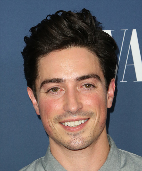 Ben Feldman Short Straight Casual  - Dark Brunette