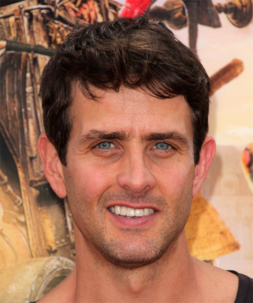 Joey McIntyre Short Straight Casual  - Medium Brunette
