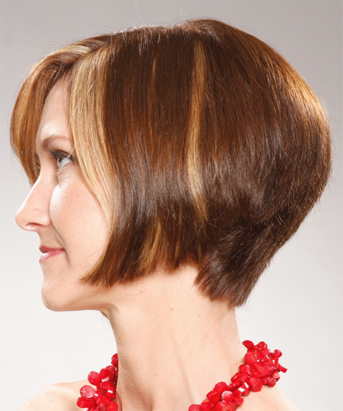 Concave Bob Hairstyles Back View This Chin Length Tattoo ...