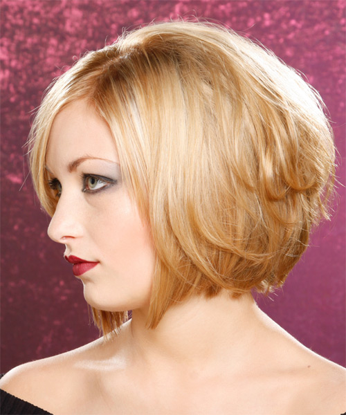 Medium Length Graduated Bob Hairstyles Back View