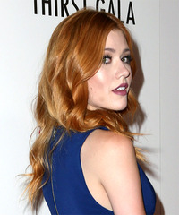 Katherine McNamara - Long Wavy - side view