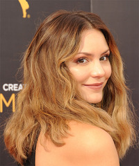Katharine McPhee - Long Wavy - side view