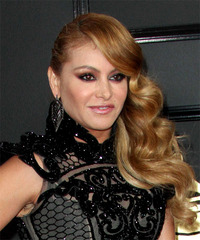 Paulina Rubio - Long Curly - side view