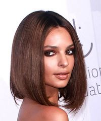 Emily Ratajkowski Medium Straight - side view