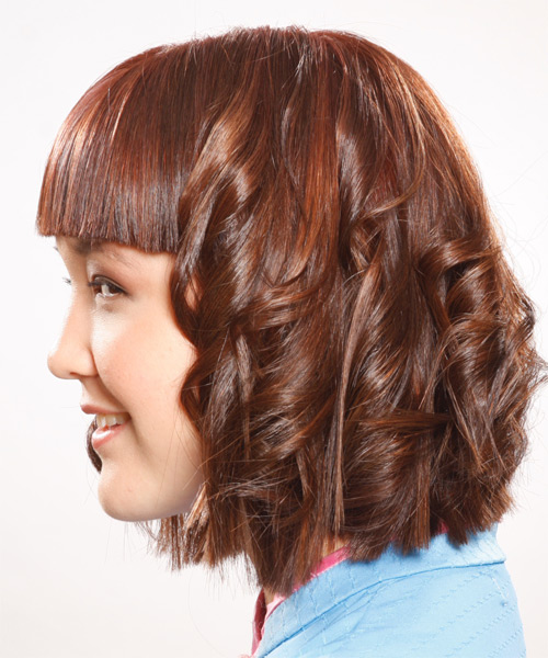 Medium Wavy Alternative - side view