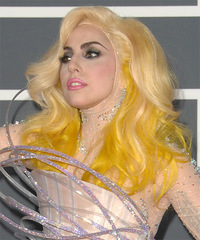Lady GaGa Hairstyle - click to view hairstyle information