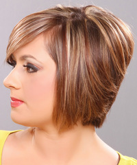 Medium Straight Formal Hairstyle - click to view hairstyle information