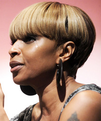 Mary J Blige Hairstyle - click to view hairstyle information