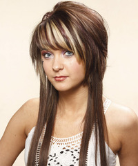 Long Straight Alternative Hairstyle - click to view hairstyle information