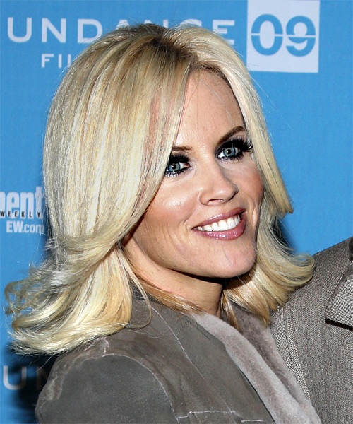 Jenny McCarthy Long Straight Hairstyle - side view