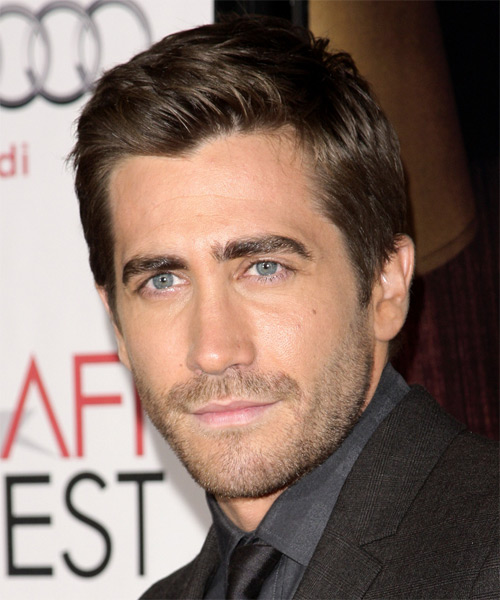 Jake Gyllenhaal Short Straight Formal  - side view